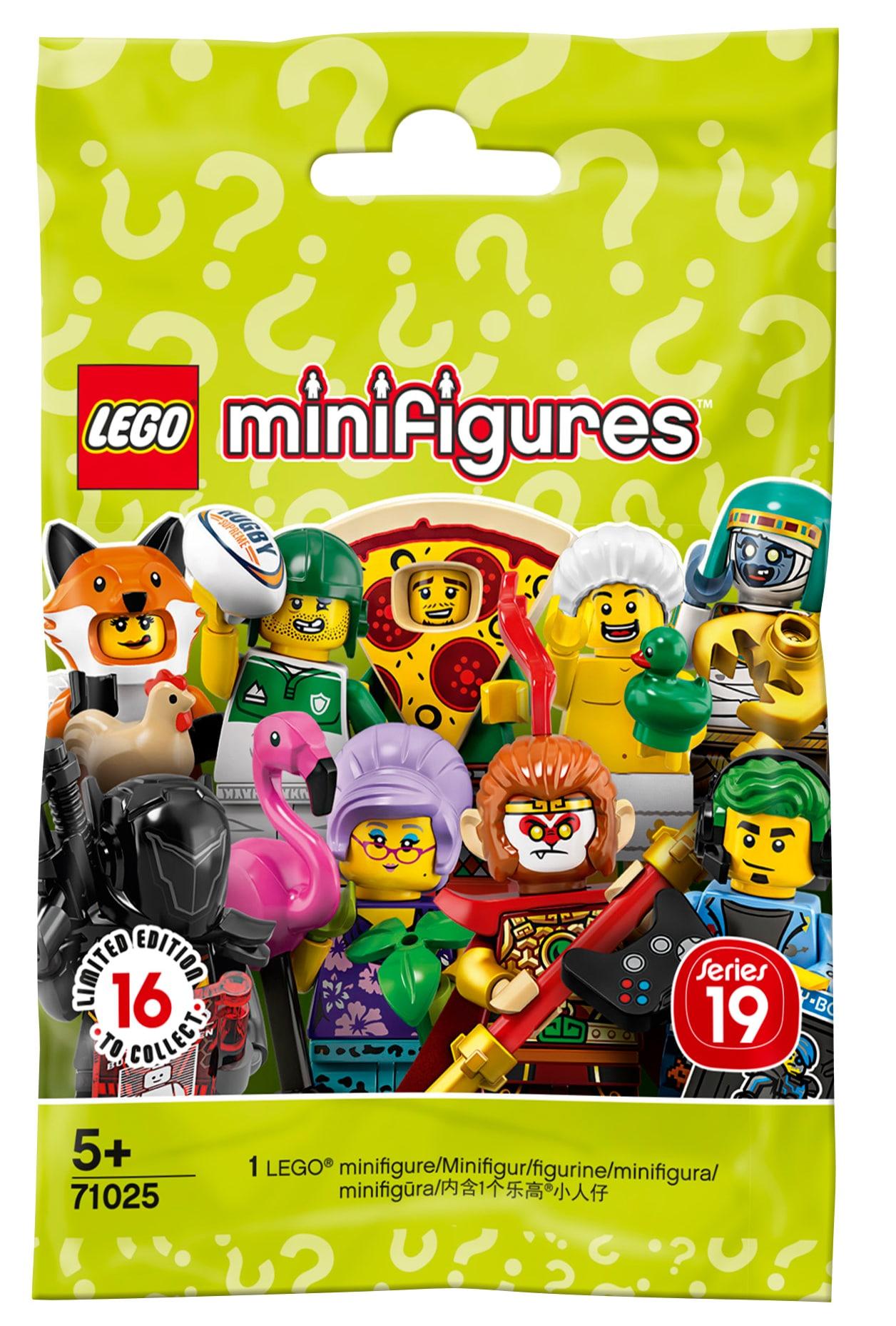 LEGO 71025 Minifiguren Serie 19 Blindbag