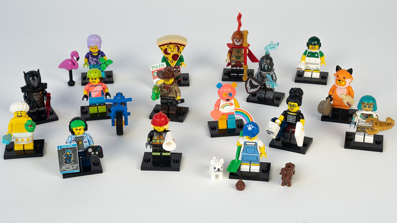 LEOG 71025 Minifiguren Serie 19 Review