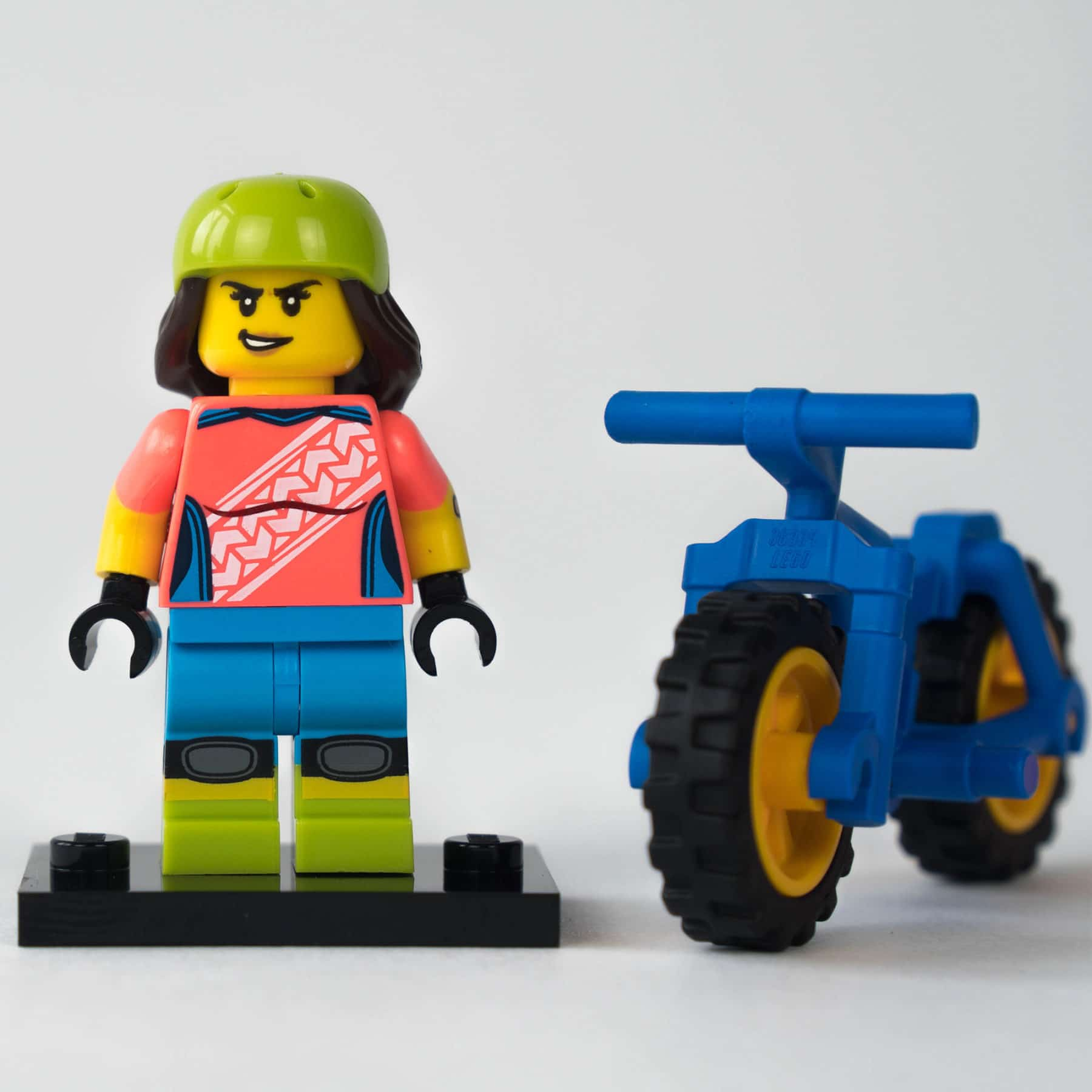 LEGO 71025 Minifigur: Mountainbikerin