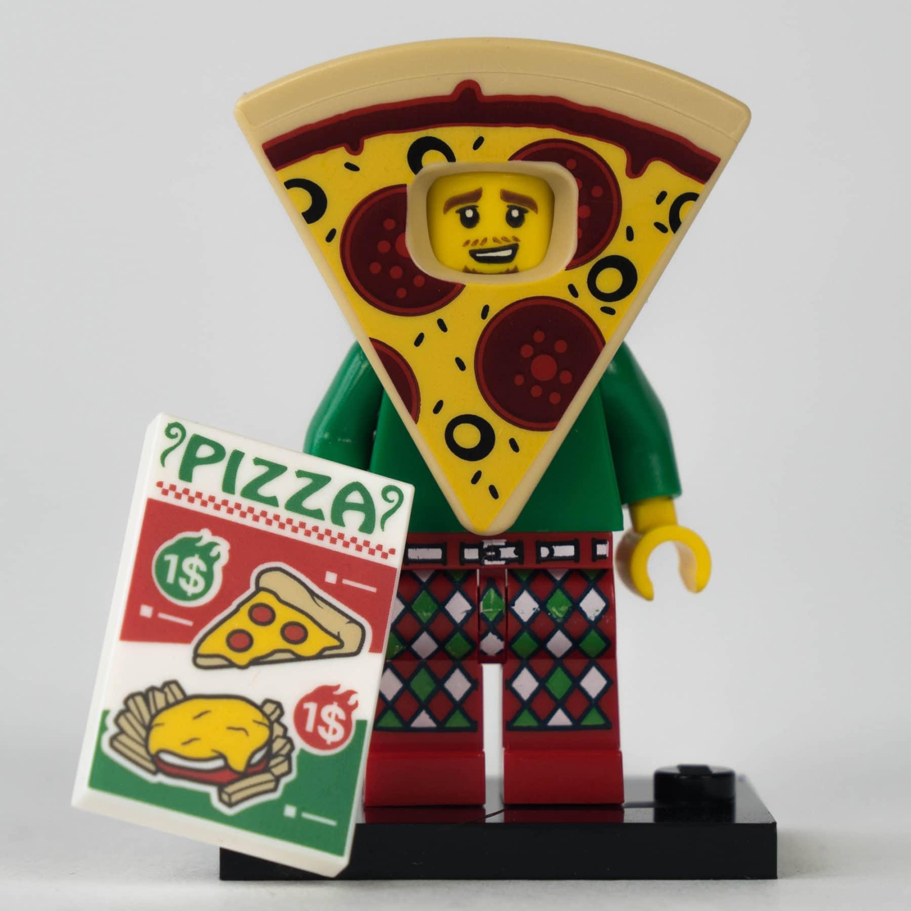 LEGO 71025 Minifigur: Pizza-Typ