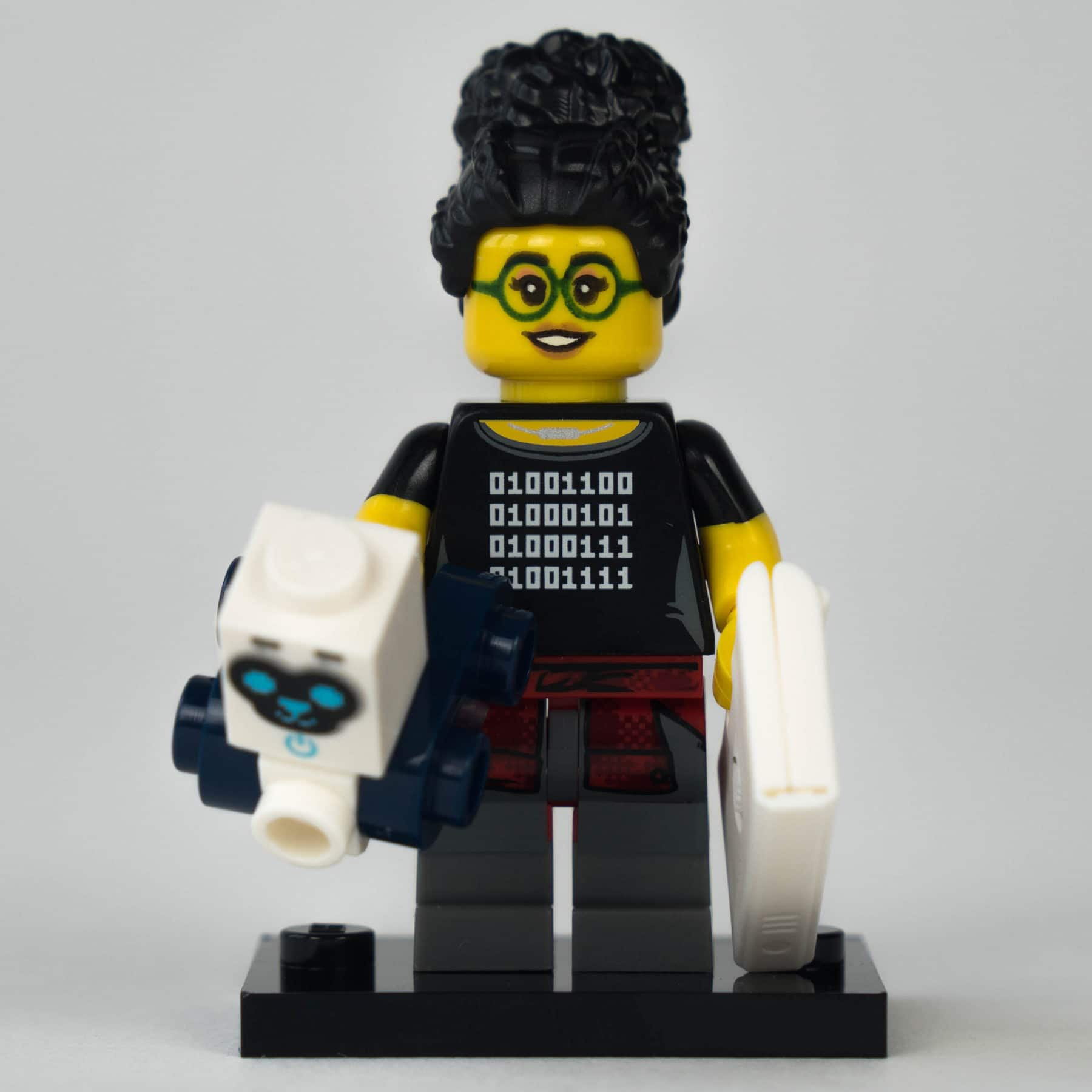 LEGO 71025 Minifigur: Programmiererin