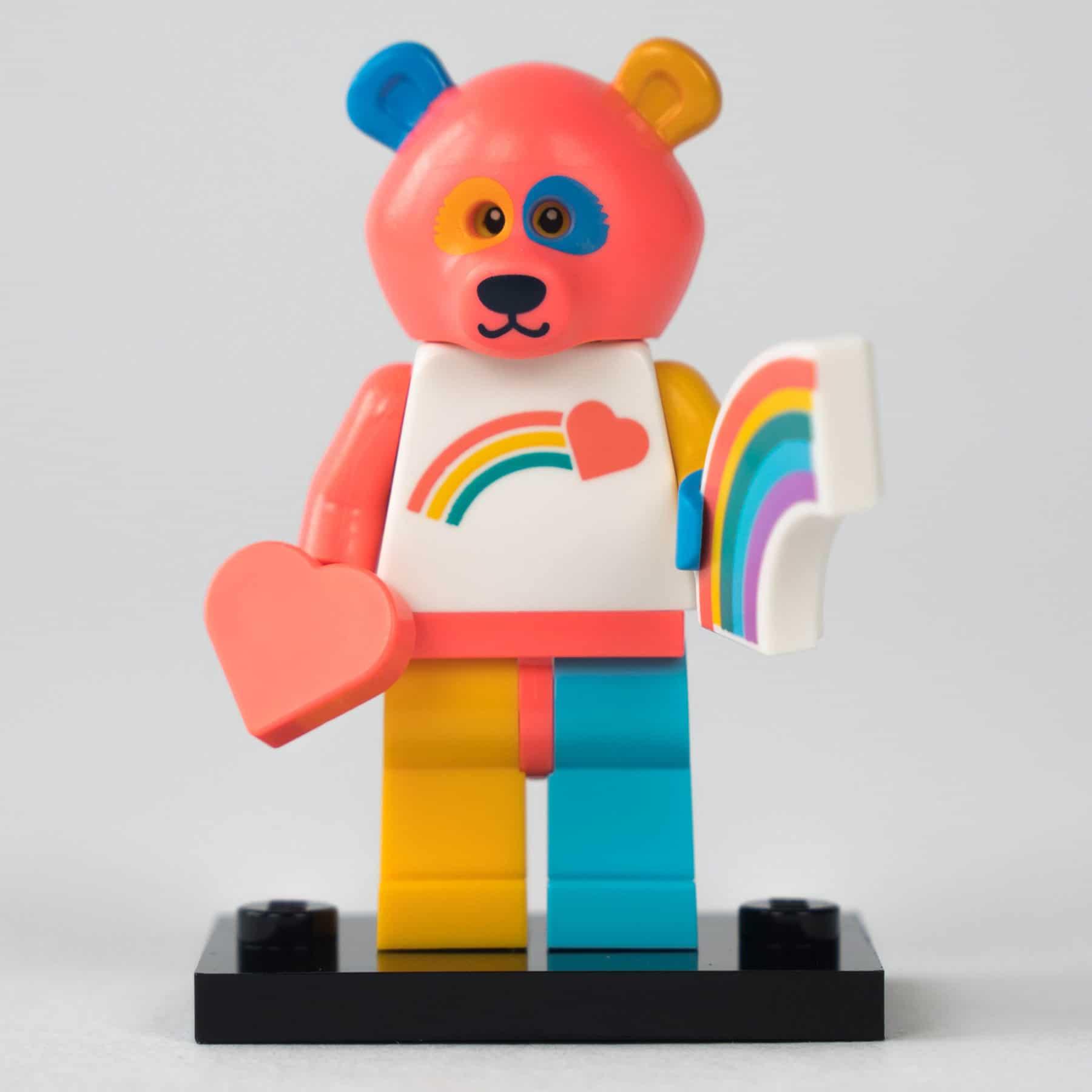 LEGO 71025 Minifigur: Regenbogen-Bär