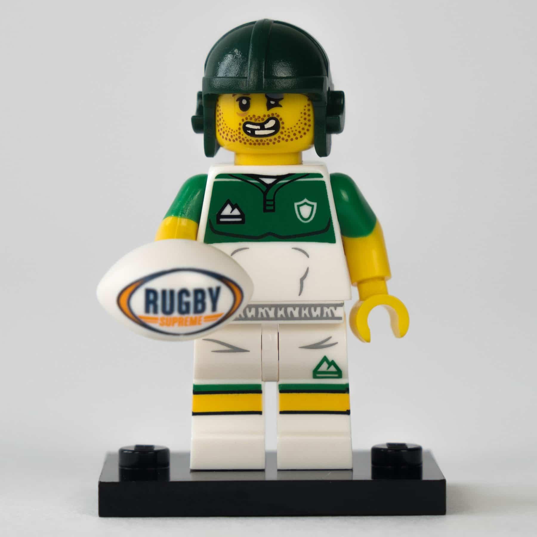 LEGO 71025 Minifigur: Rugby-Spieler