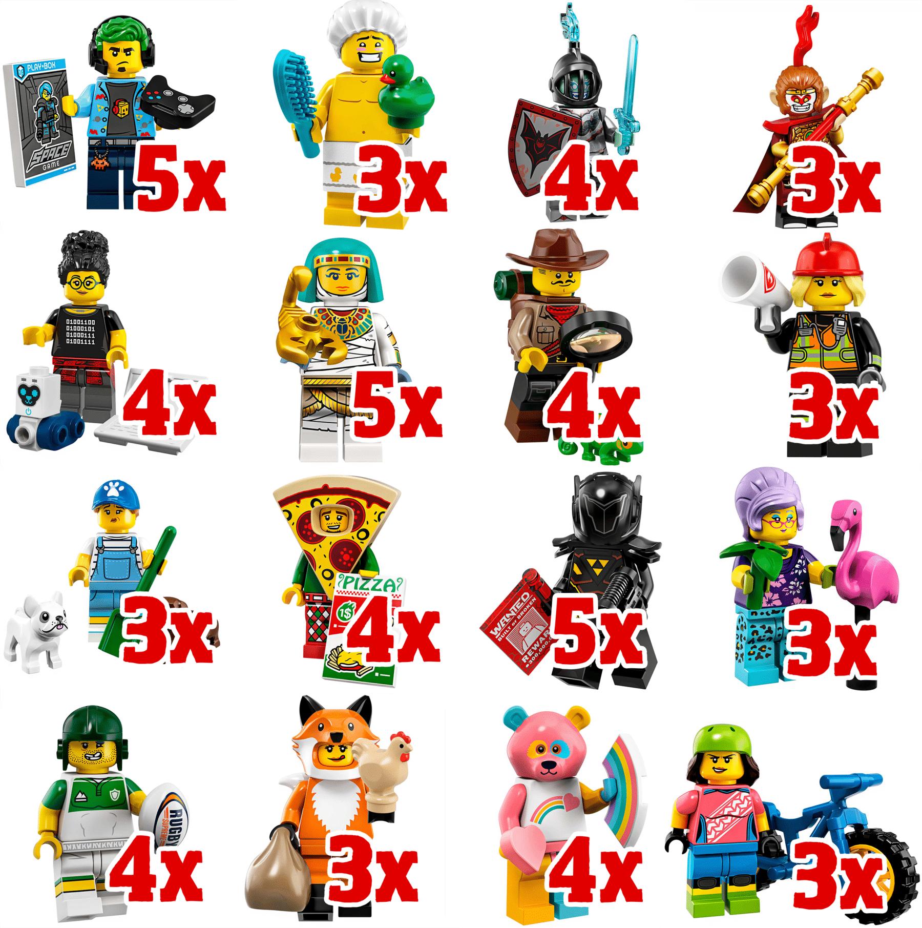 LEGO 71025 Verteilung Box