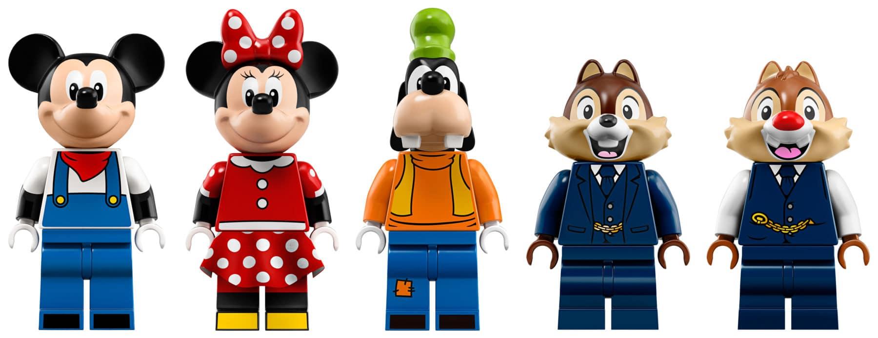 LEGO 71044 Disney Zug Minifiguren