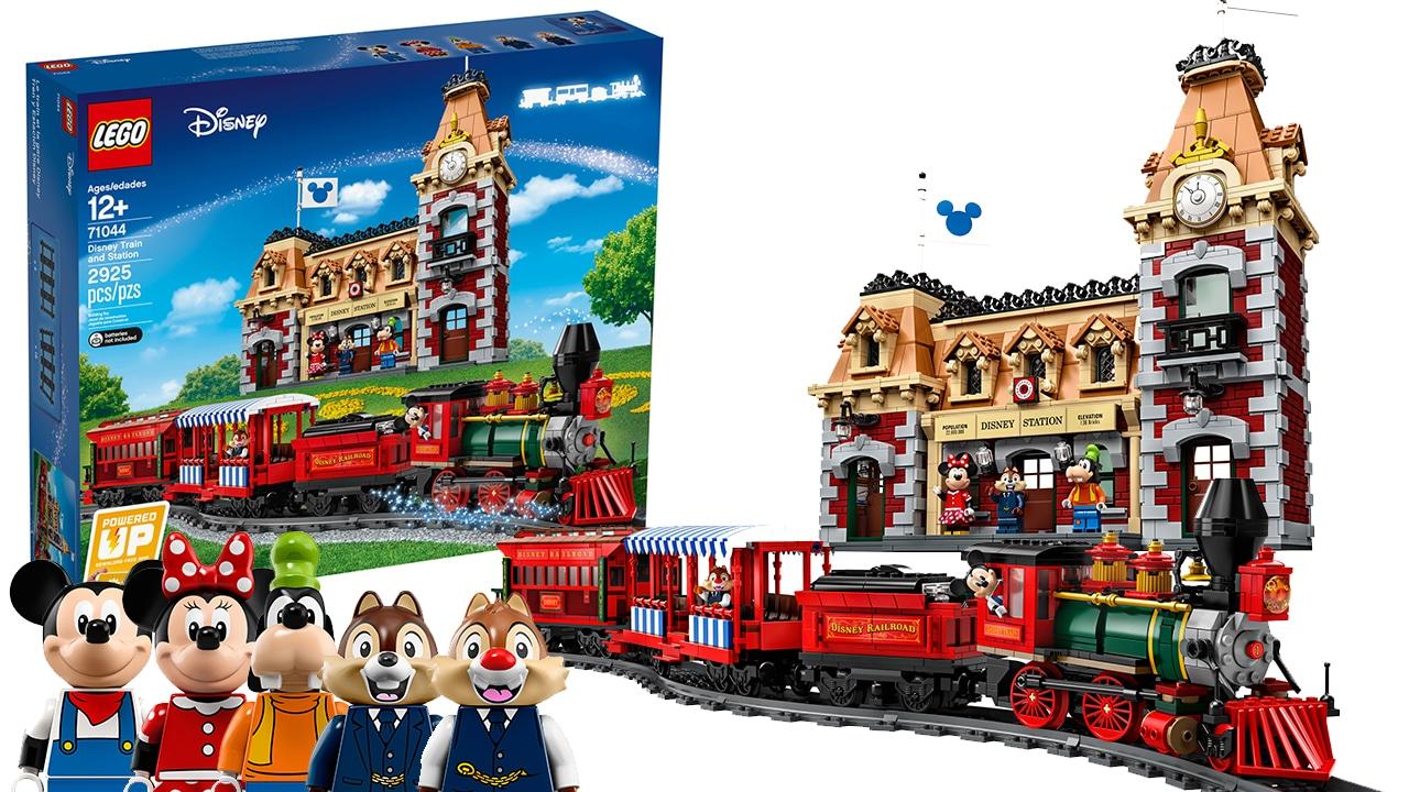 LEGO 71044 Disney Zug und Bahnhof