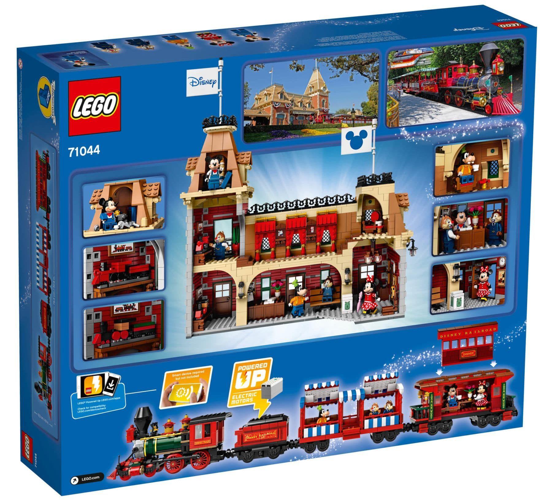 LEGO 71044 Disney Zug und Bahnhof Box hinten