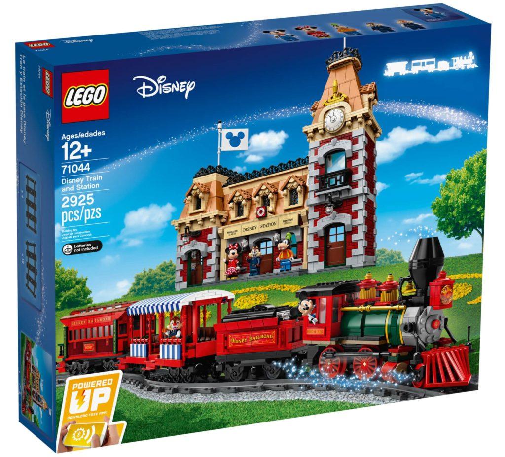 LEGO 71044 Disney Zug und Bahnhof Box vorne