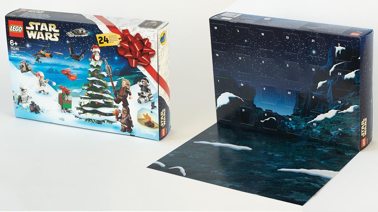 LEGO Star Wars 75245 Adventskalender Box