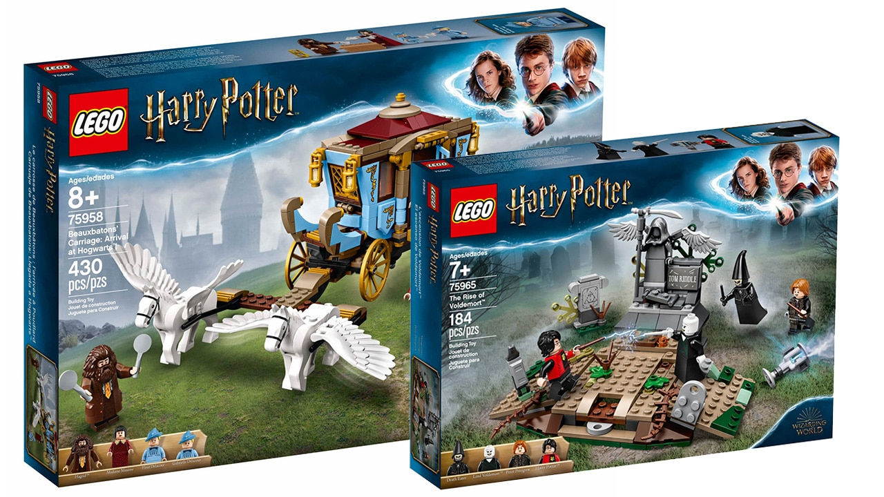 LEGO Harry Potter Neuheiten August 2019