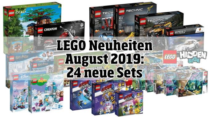 LEGO Neuheiten August 2019