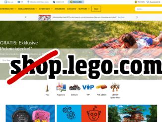shop.lego.com wird zu lego.com