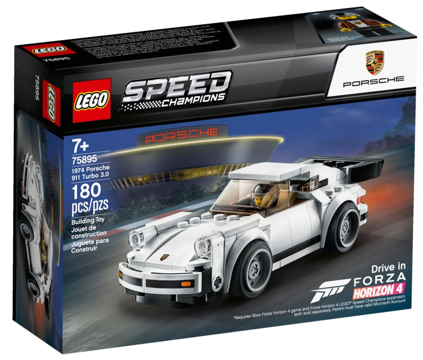 LEGO Speed Champions 75985 1974 Porsche 911 Turbo 3.0