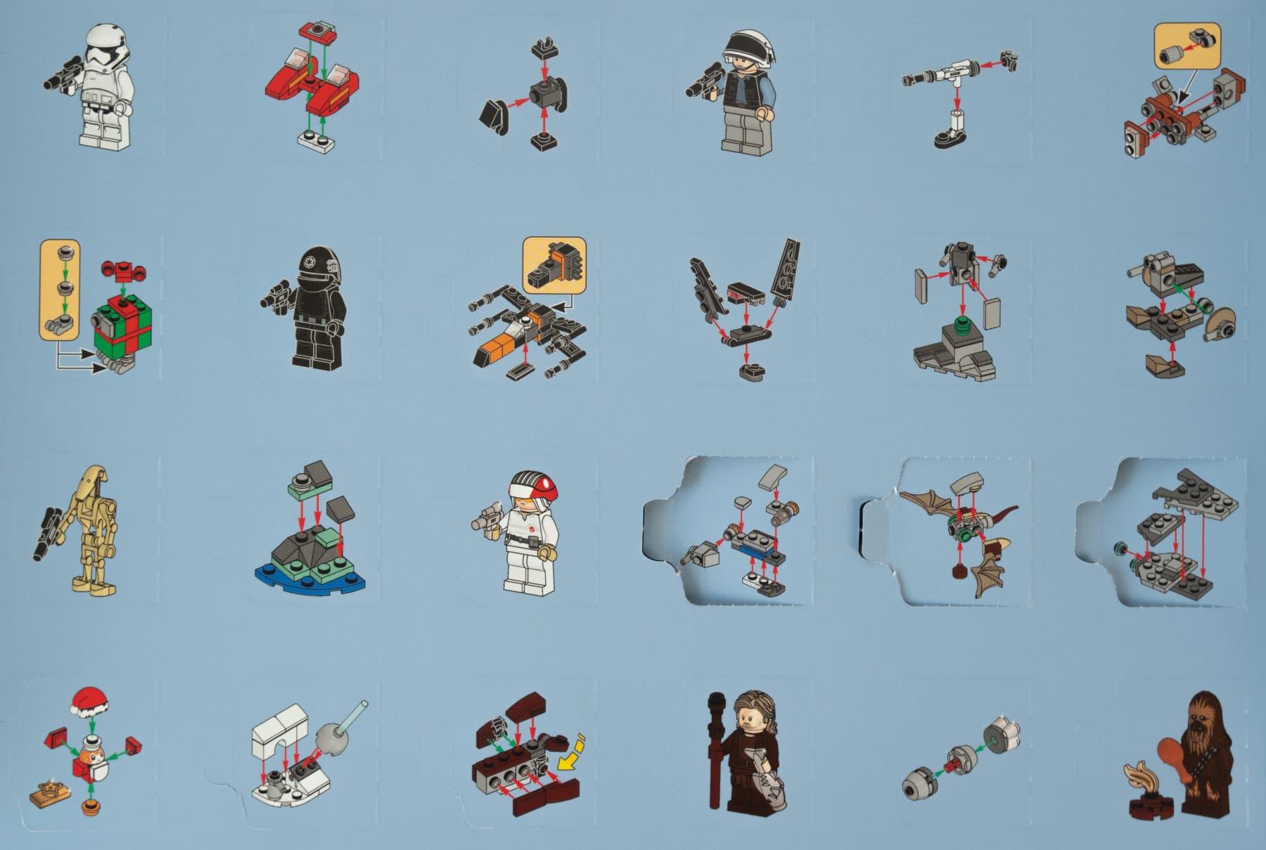LEGO Star Wars 75245 Adventskalender Anleitungen