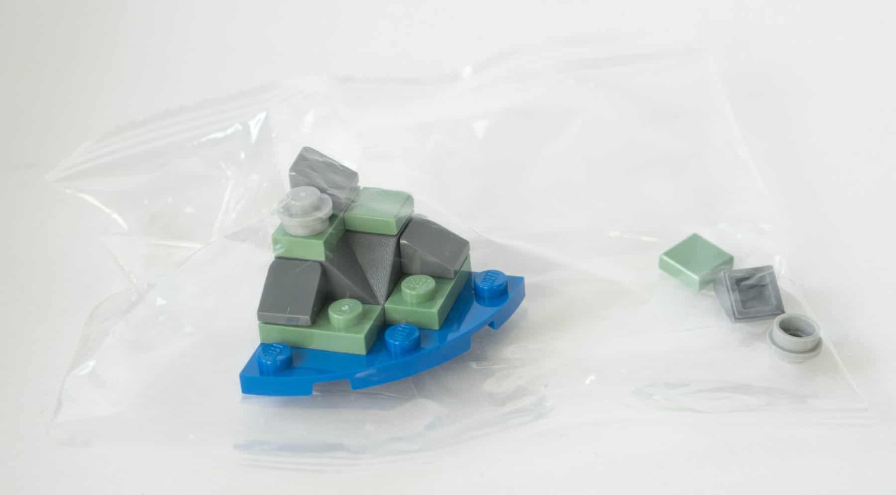 LEGO Star Wars Adventskalender in der Tüte bauen