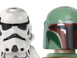 LEGO Star Wars Büsten 2020: Stormtrooper und Boba Fett