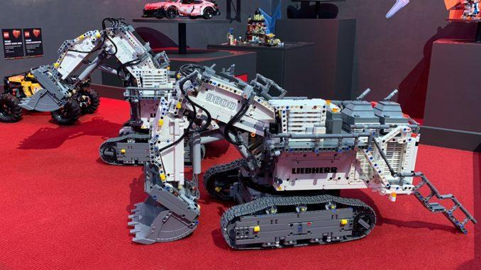 LEGO Tecnic 42100 Liebherr R9800