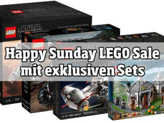 Happy Sunday Sale mit exklusiven LEGO Sets