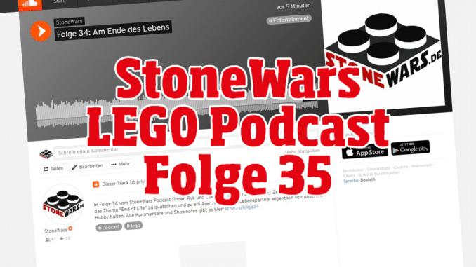StoneWars LEGO Podcast Folge 35