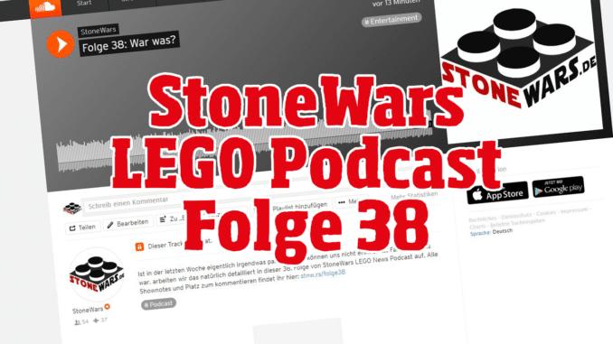 StoneWars LEGO Podcast Folge 38
