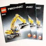 LEGO Technik 8043: Bauanleitung
