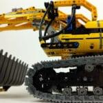 LEGO Technik 8043: Der fertige Bagger