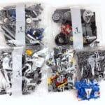LEGO Technic 42100 Liebherr R 9800: Teile des 1. Bauabschnitts