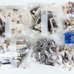 LEGO Technic 42100 Liebherr R 9800: Teile des 2. Bauabschnitts