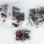 LEGO Technic 42100 Liebherr R 9800: Teile des 4. Bauabschnitts