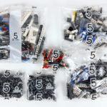 LEGO Technic 42100 Liebherr R 9800: Teile des 5. Bauabschnitts