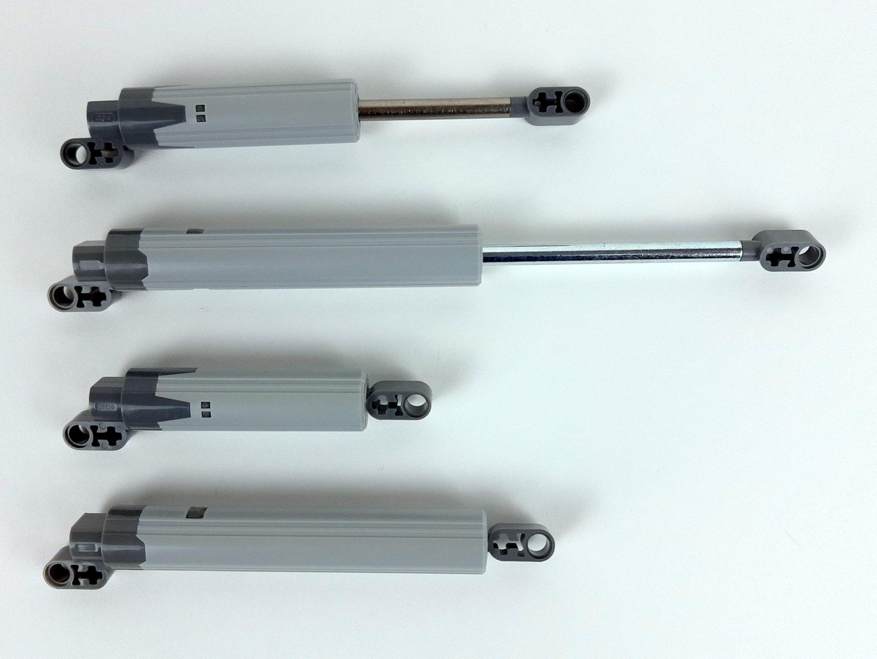 Neue, lange Aktuatoren (jeweils unten)