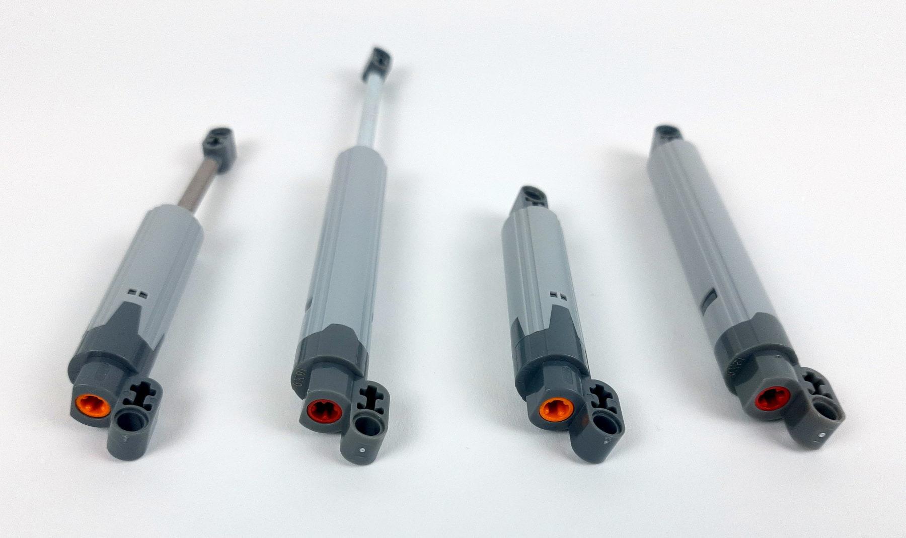 Neue, lange Aktuatoren (jeweils rechts)