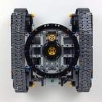 LEGO Technic 42100 Liebherr R 9800: Fahrgestell von oben