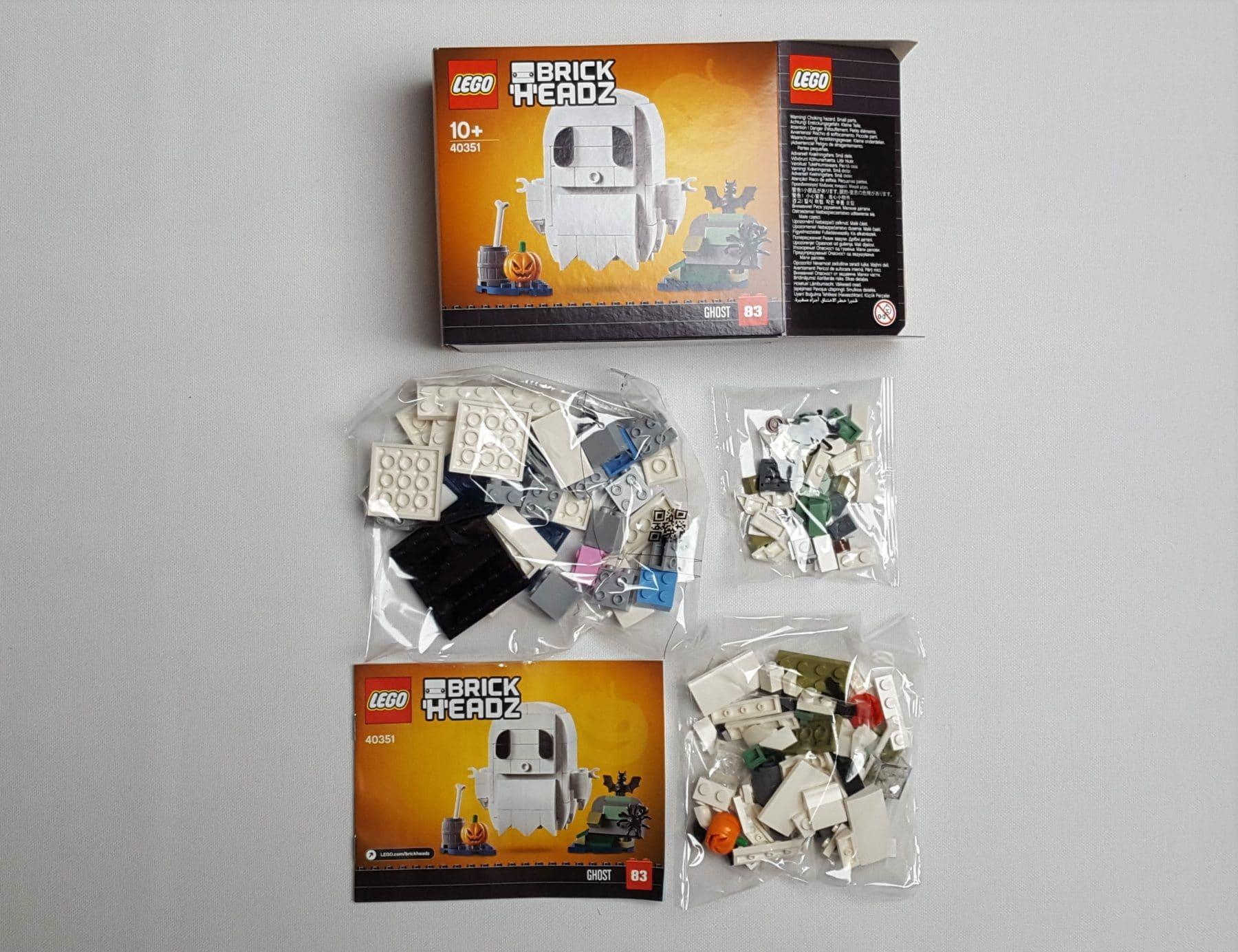 LEGO BrickHead 40351 Halloween Gespenst
