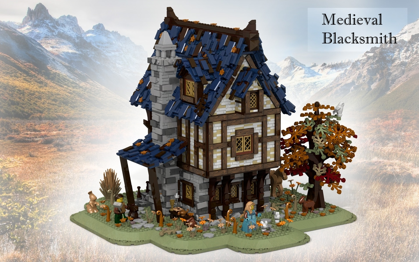 LEGO Ideas Entwurf Medieval Blacksmith