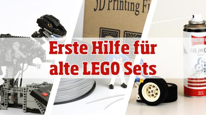 Erste Hilfe für alte LEGO Sets