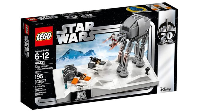 LEGO 40333 Battle of Hoth Diorama gratis