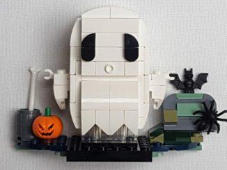 LEGO 40351 BrickHeadz Review
