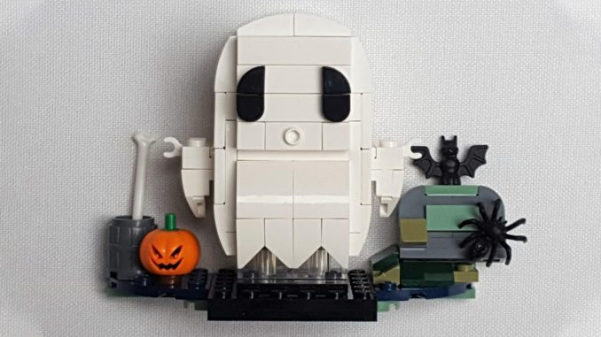 LEGO 40351 BrickHeadz Review