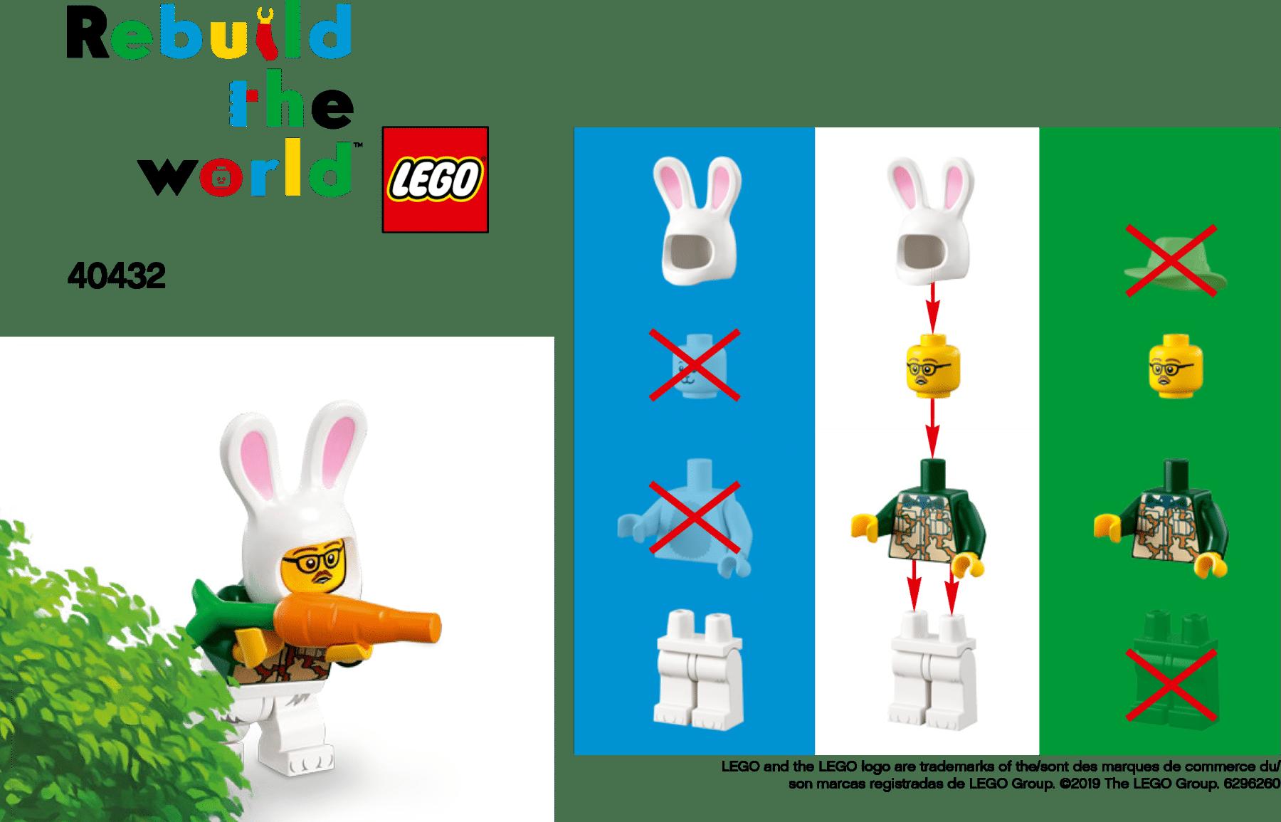 LEGO 40432 Rebuild the World
