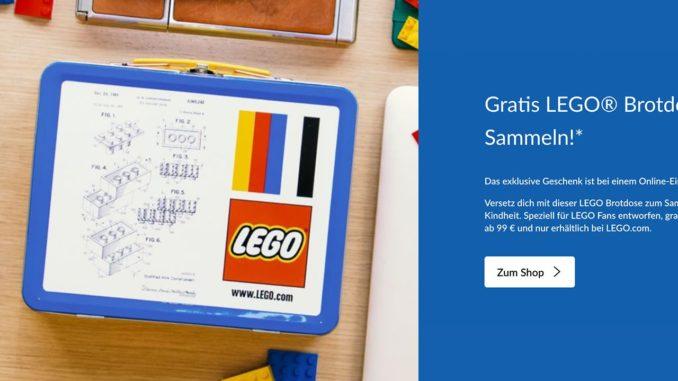 LEGO 6006017 Brotdose Gratis