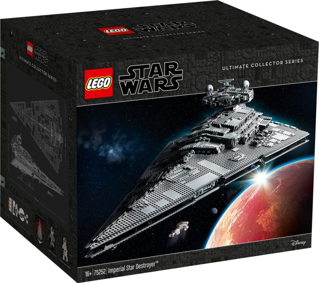 LEGO Star Wars 75252 Imperial Star Destroyer Box