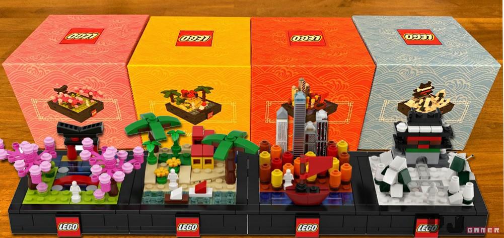 LEGO Bricktober 2019 Verpackungen