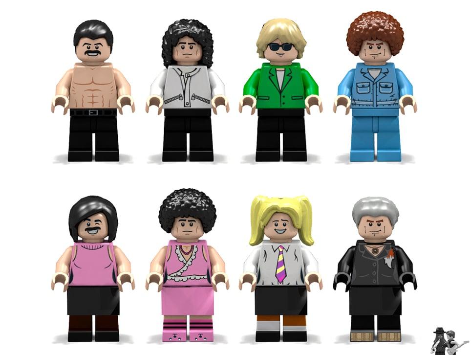 LEGO Ideas Queen Minifiguren