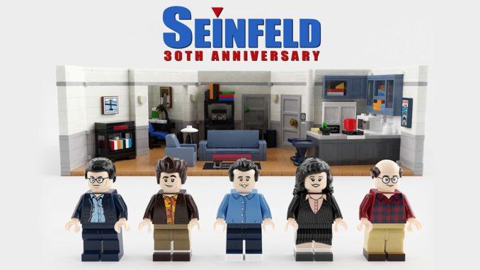LEGO Ideas Seinfeld Entwurf
