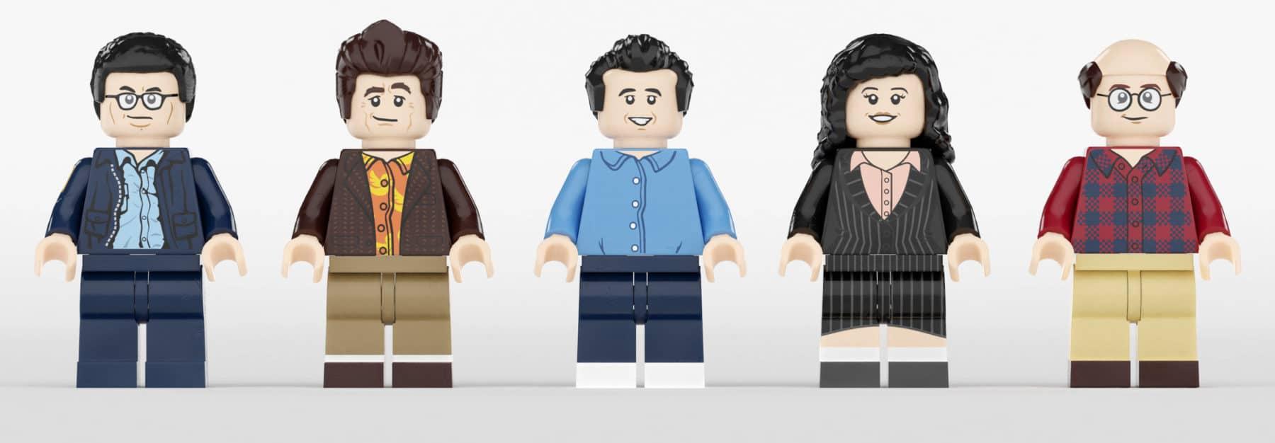 LEGO Ideas Seinfeld Minifiguren
