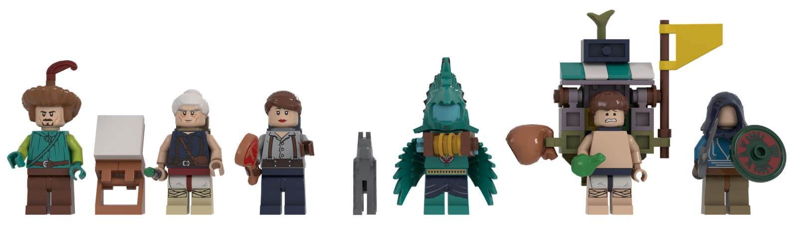 LEGO Ideas Zelda Breath of the Wild Minifiguren