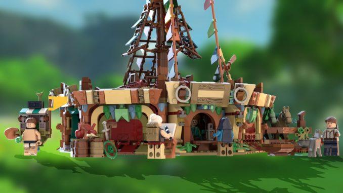 LEGO Ideas Zelda Breath of the Wild Entwurf