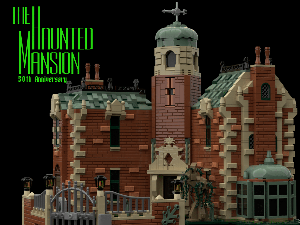 LEGO Ideas Entwurf Haunted Mansion