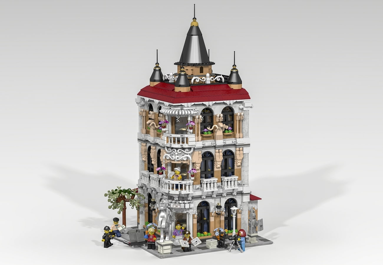 LEGO Ideas Entwurf History Museum